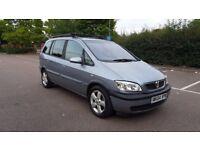 Vauxhall Zafira 1.6 i 16v Energy 5dr. MANUAL/PETROL