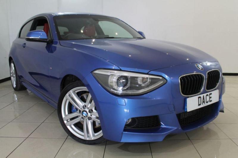 2014 14 BMW 1 SERIES 2.0 125D M SPORT 3DR AUTOMATIC 215 BHP DIESEL