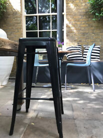Tolix Industrial bar stools (ex restaurant) 8 available