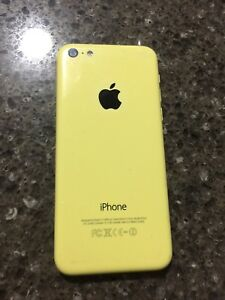 Yellow Iphone 5c with Rogers, 8GB