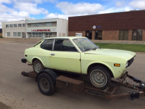 FOR SALE / 1974 FIAT 128 SL SPORTS COUPE PROJECT / $2500 O.B.O
