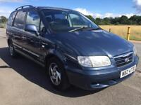 BARGAIN! Hyundai Trajet 7 seater, long MOT, ready to go