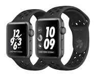 Apple Watch Nike+ Space Grey Aluminium Case with Anthracite/Black Nike Sport Band