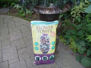 Flower tower - floor standing