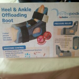 Heel and Ankle Offloading Boots