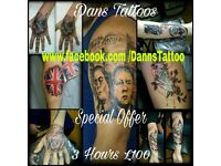 Dans Tattoos