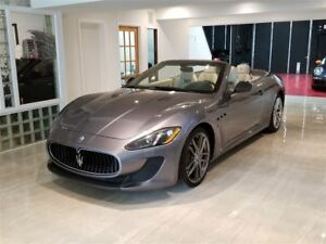 2013 Maserati GranTurismo MC CONVERTIBLE /CARBON FIBER PADDLE SH