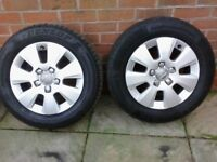 Audi A3 wheels with tires