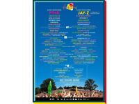 2x weekend camping VFestival tickets