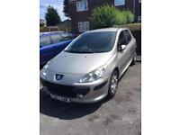 Peugeot 307 silver- REDUCED as needs repairs