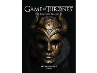 Game of Thrones Complete Seasons 1-5 DVD