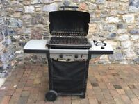 HOMEBASE SORRENTO GAS BARBECUE,STEEL TROLLEY by SORRENTO