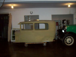 REDUCED -  1929 FORD MODEL A 2 DOOR SEDAN - BODY ONLY- NO FRAME