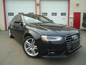 2013 Audi A4 2.0T Quattro Premium Plus, LOW KM, LOADED