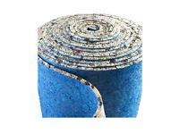 BRAND NEW 3 rolls of PU Foam 10mm thick carpet underlay