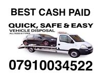 079100 345 22 SELL MY CAR VAN MOTORCYCLES FOR CASH BUY YOUR SCRAP FAST SCRAP B