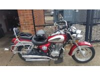 Torro Pioneer XF 125L-4B Motorbike RED