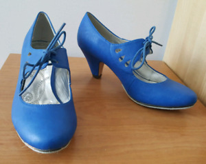 Dance shoes Modcloth sueded soles