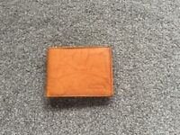Brand new leather mans wallet.