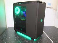 ★High Quality 8-Core/GTX 690 4GB/SSD/2TB HDD/Razor ROG 4K Gaming Tower★