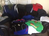 Job lot 21 x sportswear clothing ( to clear)
