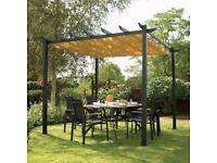 Brand new Latino freestanding canopy