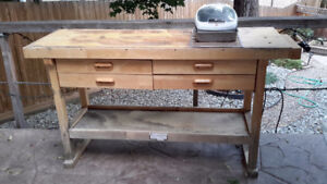 Worktable/potting table