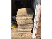 """18""""X18"""" and 12""""X12"""" paving slabs"""