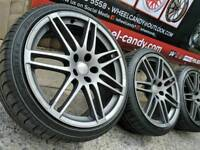 """19"""" Genuine Audi A4 RS4 Sline alloy wheels and tyres 5x112"""