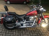 HARLEY DAVIDSON FAT BOY 1996