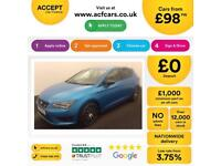 SEAT LEON 1.4 ECOTSI FR TECHNOLOGY 2.0 TDI SE BUSINESS FROM £98 PER WEEK!