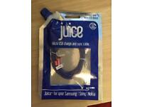 Juice micro USB charge and sync cable 1.5m