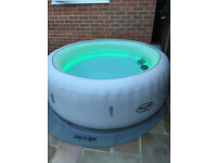 Lay Z Spa Paris Lazy Spa like NEW Inflatable Hot Tub Jacuzzi
