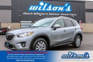 2015 Mazda CX-5 GS SKYACTIV! SUNROOF! HEATED SEATS! PUSH BUTTON