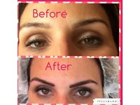 Permanent Make-Up Eyebrows for only £100 for this month only, normally £300