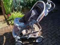MOTHERCARE BUGGY AND ACCESSORIES