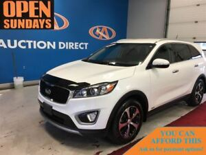 2016 Kia Sorento 2.0L EX AWD! LEATHER! TURBO! FINANCE NOW!