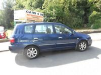 KIA CARENS LE CRDI MPV ONLY 2 OWNER WITH SERVICE HISTORY AND M-O-T TILL NOVEMBER DRIVE VERY NICE