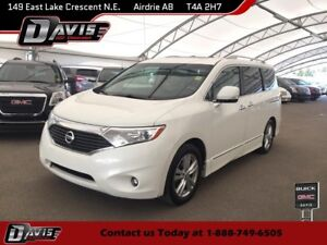 2011 Nissan Quest REAR DVD PLAYER, 2-PANEL SUNROOF, NAVIGATION