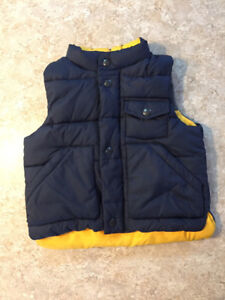 Boys Baby Gap Fall Vest- size 12-18 months