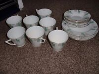 antique bone china tea set