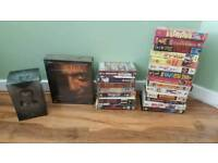 Job lot of vhs videos brand new box sets