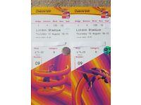 2 x IAAF World Championships ( 200m Final and Triple Jump Final ) Thurs 10th Aug