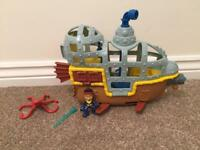 Jake and the Neverland Pirates Submarine