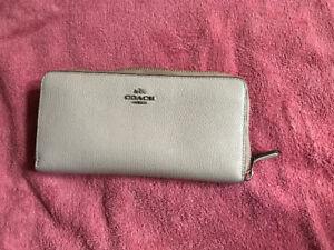 Coach Accordian Zip Wallet