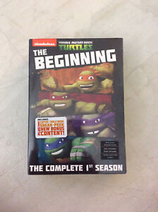 Nickelodeon teenage mutant ninja turtles season 1 DVD *new*