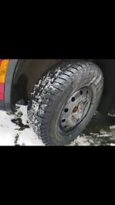 Winter Tires and rims 195/65/15 and rims