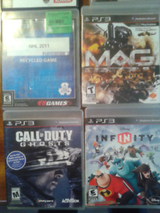 Ps3 games, and Disney infinity set 11 characters