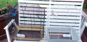 bird cages 25$ each in good condition