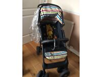 3 in 1, carrycot, pushchair, carseat